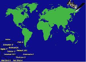 Satellitenfrequenzen